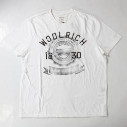 Abbigliamento Uomo T-shirt maniche corte Woolrich ATRMPN-20163 Bianco