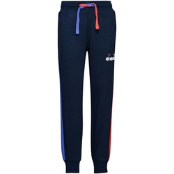 Abbigliamento Bambino Pantaloni da tuta Diadora 102.175909 Pantaloni Bambino Blu Blu