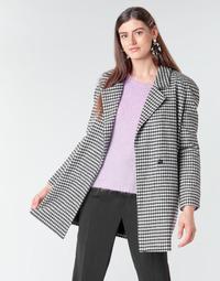 Abbigliamento Donna Cappotti Betty London NIVER Nero / Bianco
