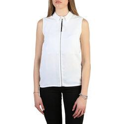 Abbigliamento Donna Camicie Armani jeans - 6y5c03_5ndhz Bianco