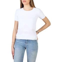 Abbigliamento Donna T-shirt maniche corte Armani jeans - 3y5m2l_5m22z Bianco