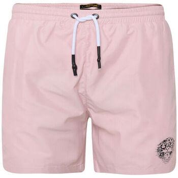 Abbigliamento Uomo Costume / Bermuda da spiaggia Ed Hardy - Roar-head swim short dusty pink Rosa