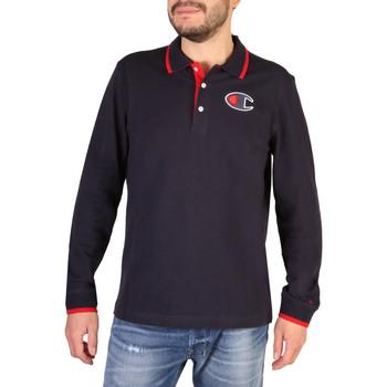 Abbigliamento Uomo Polo maniche corte Champion - 214462_BS Blu