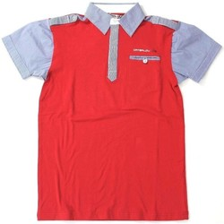 Abbigliamento Uomo T-shirt & Polo Catbalou ATRMPN-20188 Rosso