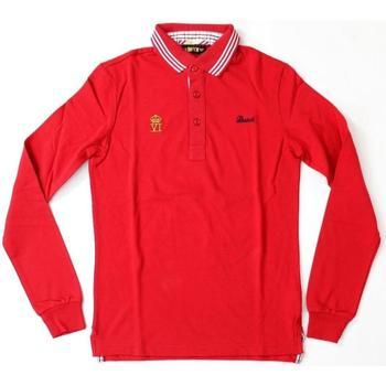 Abbigliamento Uomo Polo maniche lunghe Datch ATRMPN-20200 Rosso