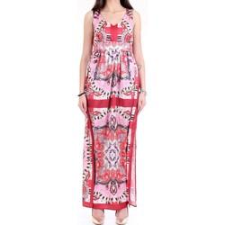 Abbigliamento Donna Abiti lunghi Lanacaprina PF2231 Rosso