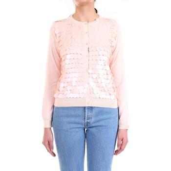 Abbigliamento Donna Gilet / Cardigan Lanacaprina PF2011 Cipria