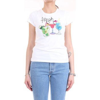 Abbigliamento Donna T-shirt maniche corte Pennyblack 29715520 T-Shirt Donna Bianco Bianco