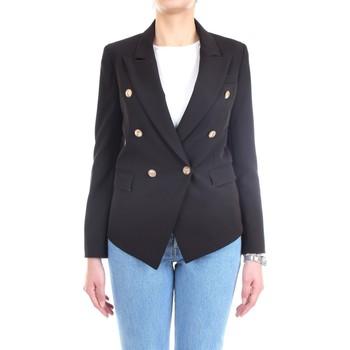 Abbigliamento Donna Giacche / Blazer Lanacaprina PF2237 Nero