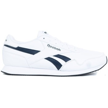 Scarpe Uomo Sneakers basse Reebok Sport Royal CL Jogger 3 Bianco,Blu marino