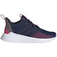 Scarpe Unisex bambino Running / Trail adidas Originals Questar Flow Blu marino