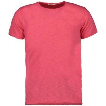 Abbigliamento Uomo T-shirt maniche corte Scout T-shirt M/m  (10184-rosa) Rosa