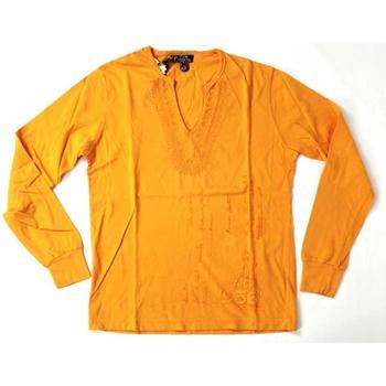 Abbigliamento Uomo T-shirts a maniche lunghe Datch ATRMPN-20205 Arancio