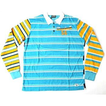Abbigliamento Uomo Polo maniche lunghe Datch ATRMPN-20207 Blu