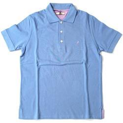 Abbigliamento Uomo Polo maniche corte Ingram ATRMPN-20216 Blu