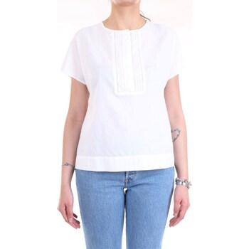 Abbigliamento Donna Camicie Cappellini 57M06339L1 TESS 00481 Bianco