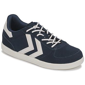 Scarpe Unisex bambino Sneakers basse Hummel VICTORY JR Blu