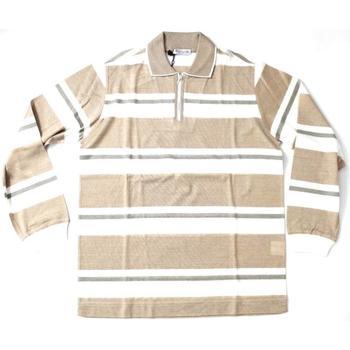Abbigliamento Uomo Polo maniche lunghe Ferrante ATRMPN-20233 Beige