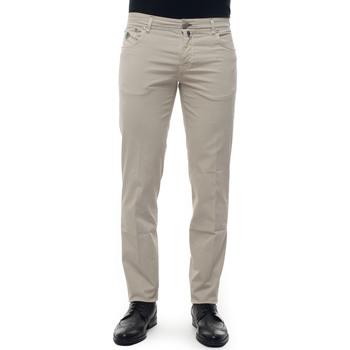 Abbigliamento Pantaloni Luigi Borrelli Napoli CARACCIOLO-TJ50060 beige