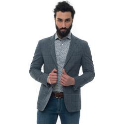 Abbigliamento Giacche Luigi Borrelli Napoli NISIDA-C907070 blu medio