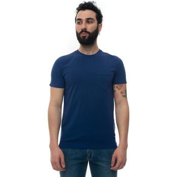 Abbigliamento T-shirt & Polo Luigi Borrelli Napoli PLX522-K900771 blu medio