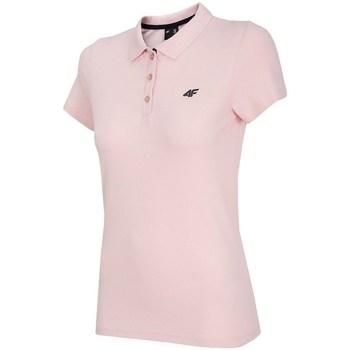 Abbigliamento Donna Polo maniche corte 4F TSD007 Rosa