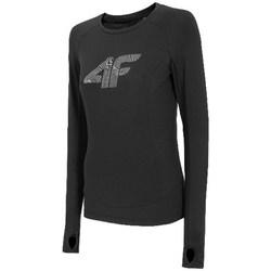 Abbigliamento Donna T-shirts a maniche lunghe 4F TSDLF001 Nero
