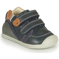 Scarpe Bambino Sneakers basse Biomecanics BOTIN VELCROS Marine