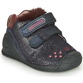Scarpe Bambina Sneakers basse Biomecanics BOTIN ELASTICO Marine