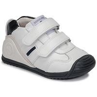 Scarpe Bambino Sneakers basse Biomecanics BIOGATEO SPORT Bianco