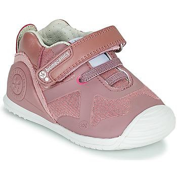 Scarpe Bambina Sneakers basse Biomecanics ZAPATO ELASTICO Rosa