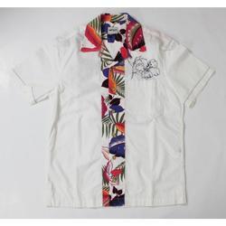 Abbigliamento Uomo Camicie maniche corte Gas ATRMPN-20245 Bianco