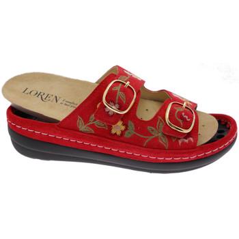 Scarpe Donna Ciabatte Calzaturificio Loren LOB5021ro rosso