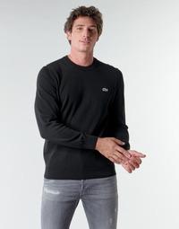Abbigliamento Uomo Maglioni Lacoste AH1985 Nero