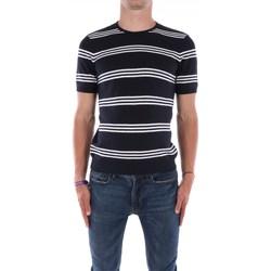 Abbigliamento Uomo T-shirt maniche corte Mark Midor 7435G Manica Corta Uomo Blu Blu