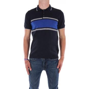 Abbigliamento Uomo Polo maniche corte Mark Midor 7433 Maniche Corte Uomo Blu navy Blu navy