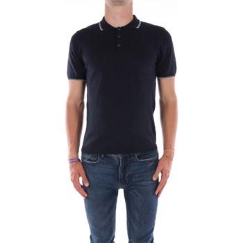 Abbigliamento Uomo Polo maniche corte Mark Midor 7431 Maniche Corte Uomo Blu navy Blu navy