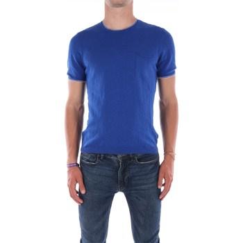 Abbigliamento Uomo T-shirt maniche corte Mark Midor 7430 Manica Corta Uomo Bluette Bluette
