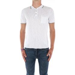 Abbigliamento Uomo Polo maniche corte Mark Midor 7431 Maniche Corte Uomo Bianco Bianco