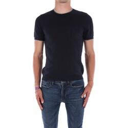 Abbigliamento Uomo T-shirt maniche corte Mark Midor 7430 Manica Corta Uomo Blu navy Blu navy