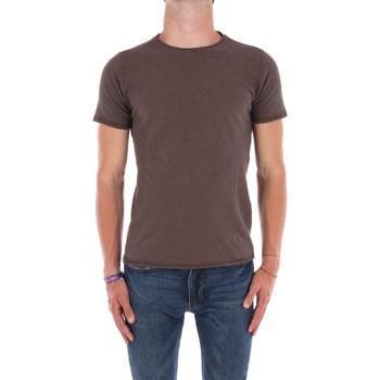 Abbigliamento Uomo T-shirt maniche corte Jeordie's 80692 Cioccolata