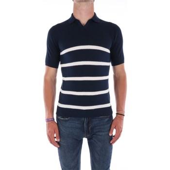 Abbigliamento Uomo Polo maniche corte Filippo De Laurentis A28616 Maniche Corte Uomo Blu navy Blu navy