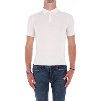 Abbigliamento Uomo Polo maniche corte Filippo De Laurentis A40691 Maniche Corte Uomo Bianco Bianco