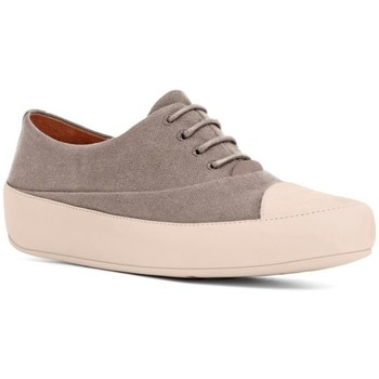 Scarpe Donna Sneakers basse FitFlop DUE TM OXFORD CANVAS