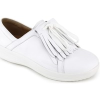 Scarpe Donna Sneakers FitFlop F-SPORTY TM II LACE UP FRINGE SNEAKERS LEATHER