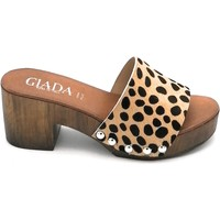 Scarpe Donna Sandali Giada G7239 Leopardato