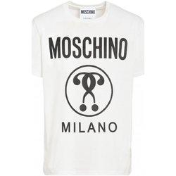 Abbigliamento Uomo T-shirt maniche corte Moschino maniche corte ZPA0706 - Uomo bianco