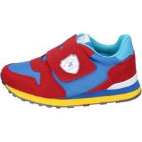 Scarpe Bambino Sneakers Beverly Hills Polo Club sneakers camoscio sintetico tessuto rosso