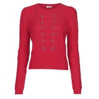 Abbigliamento Donna Maglioni Liu Jo MF0156-MA88J Rosso