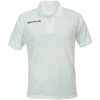 Abbigliamento Uomo Polo maniche corte Givova ATRMPN-20334 Bianco